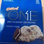 糖質制限中のおやつにおすすめ OhYeah!One クッキー&クリーム味